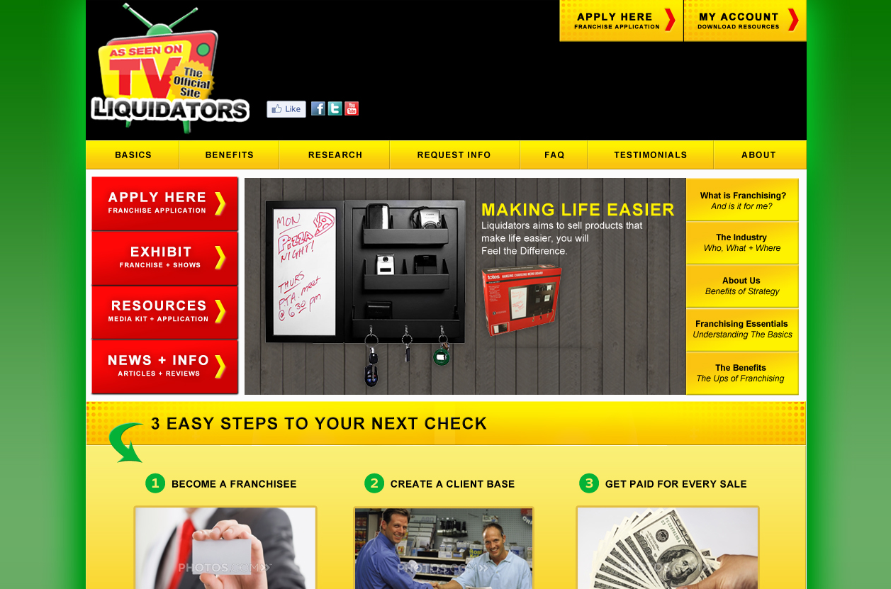ASOTVL CMS E-commerce Franchise System