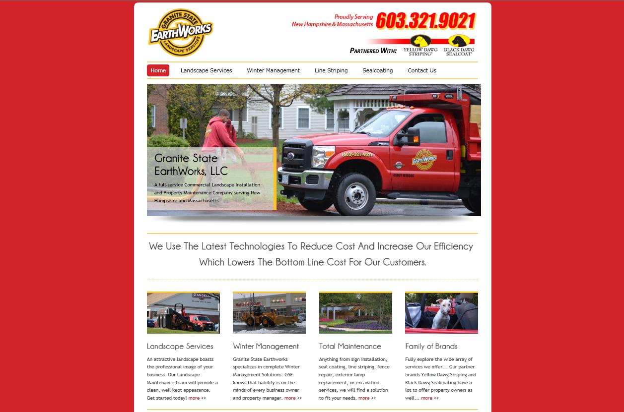 CMS Brohchure Website